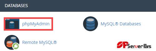 بکاپ گیری و بازگردانی دیتابیس با استفاده از phpmyadmin