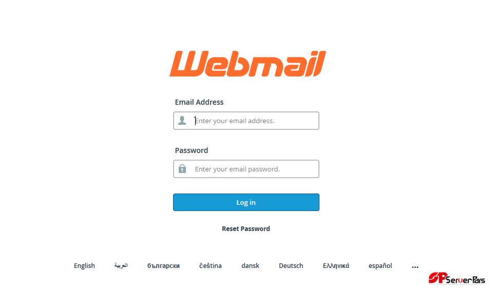 بررسی و مشاهده ی ایمیل ها در Cpanel